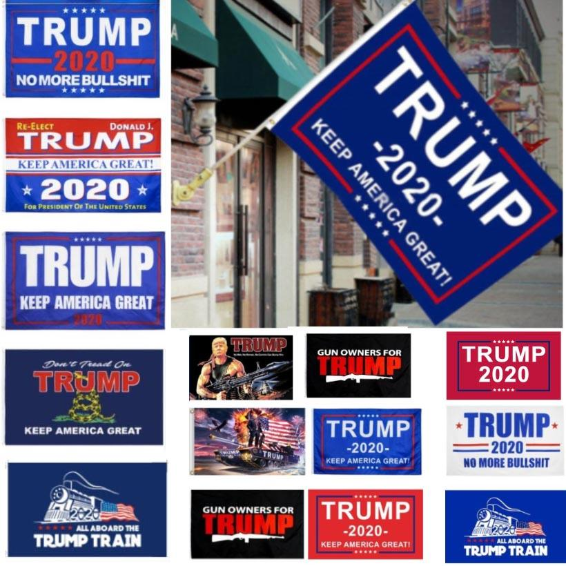 3X5 ترامب العلم 2020 ترامب الانتخابات العلم راية دونالد ترامب العلم إبقاء أمريكا العظمى دونالد بالنسبة للرئيس حملة 90x150CM HH7-1988