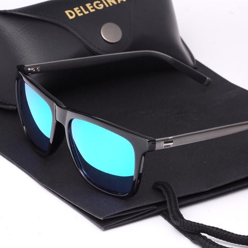 Werbezwecke polarisierte Sonnenbrille BF296 mit gespiegelten männer foto shades free echte kasten brille fahren frauen huodn