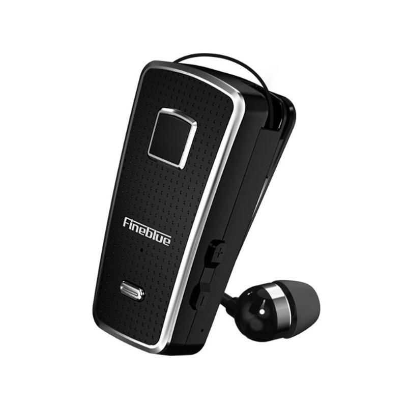 Fineblue F970 Pro Clip-on In-ear Earphone Wireless Bluetooth 5.0 Headset Vibrating Wear Clip Headphone Hands-Free with Mic