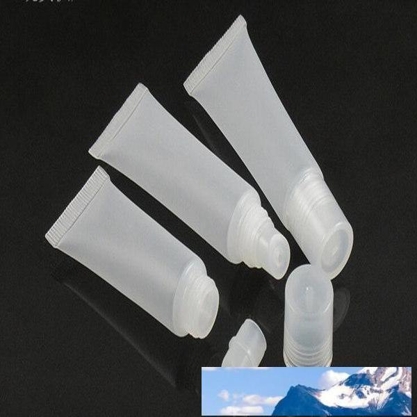 10 ml, 15 ml Flasche mattiert, Lipgloss Schlauch, Duschgel, transparente Flasche, Kosmetika, Leerrohr