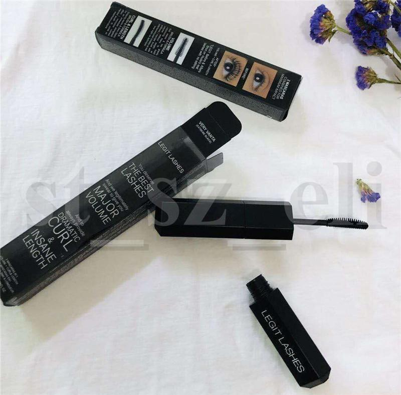 Eye Makeup Cool Black Waterproof Long Lasting Mascara Professional Lash Length Extension Mascara 10ml