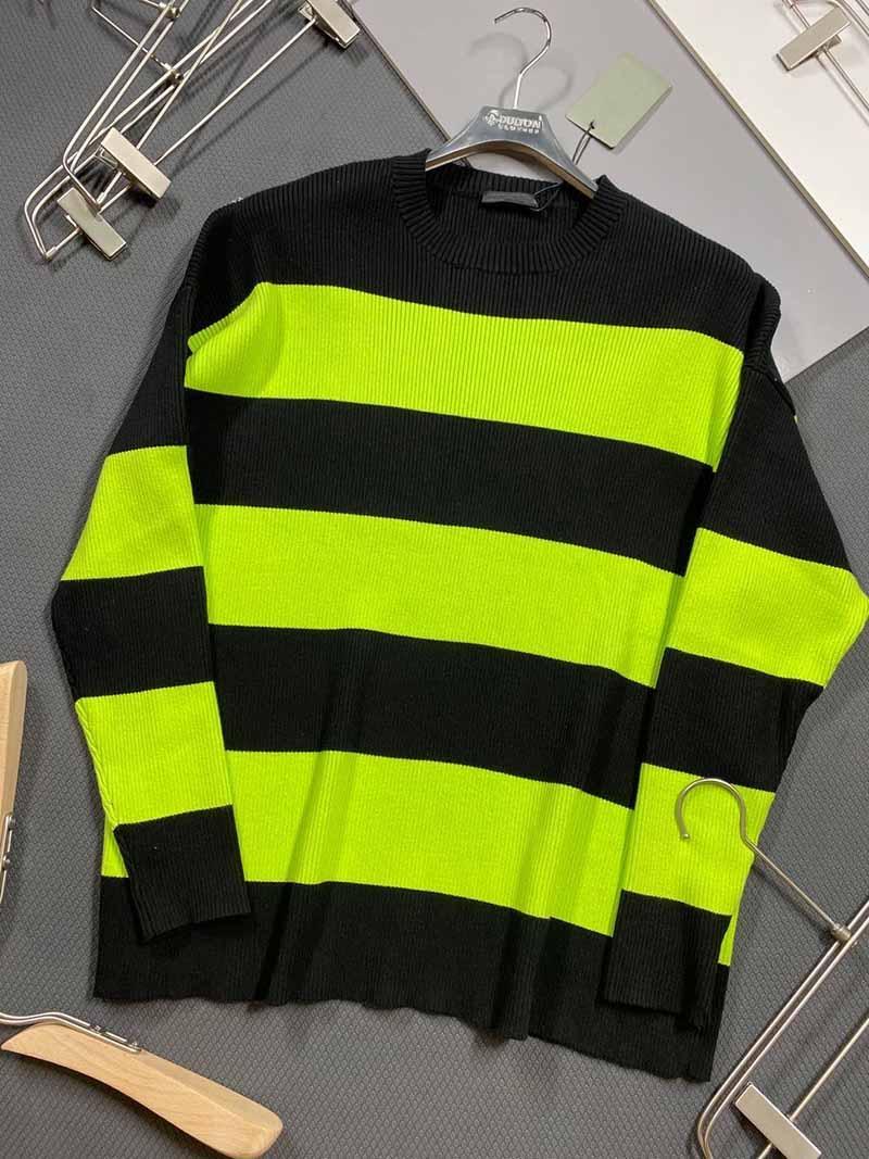 Mens suéteres de otoño invierno 2020 de las nuevas mujeres del bordado letra de la manera suéter suéter masculino contraste Casual Tamaño color Sudaderas XS-XL