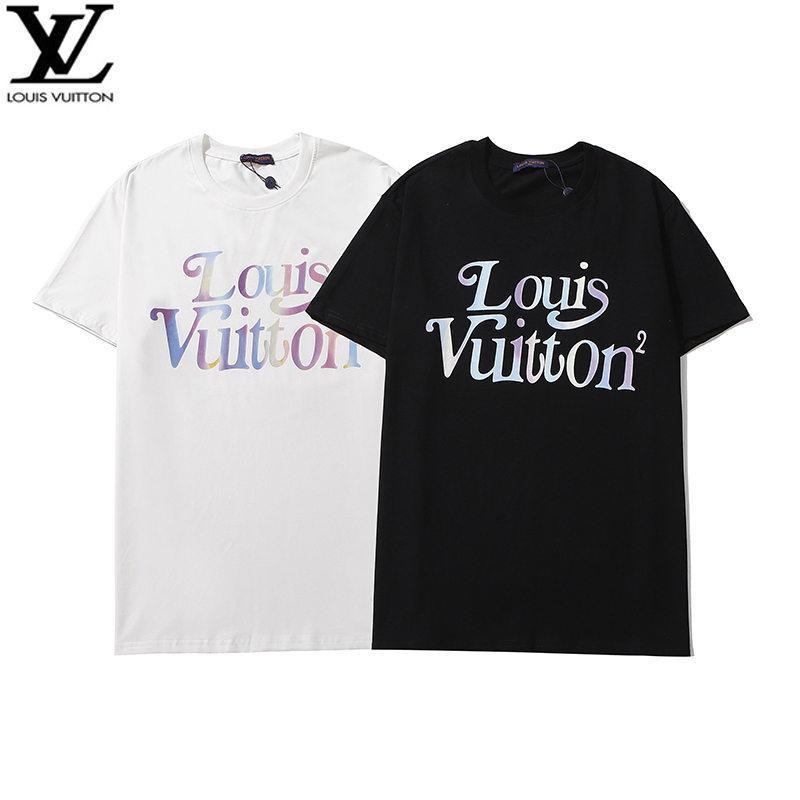 Tops del diseñador del Mens ocasionales de la manera Marca Camisetas 2020 del verano más tardío Men6545