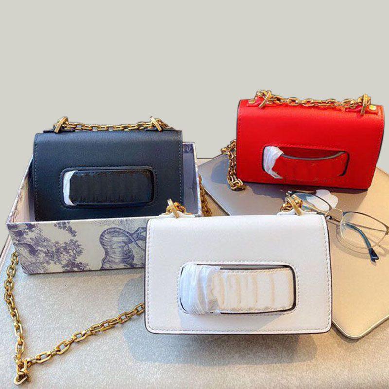 Kadınlar Zincirler Crossbody Çanta Çantalar Yeni Çanta Kadın PU Deri Kalp Stil Çanta Çantalar deri Omuz Çantaları Smooth Designer-
