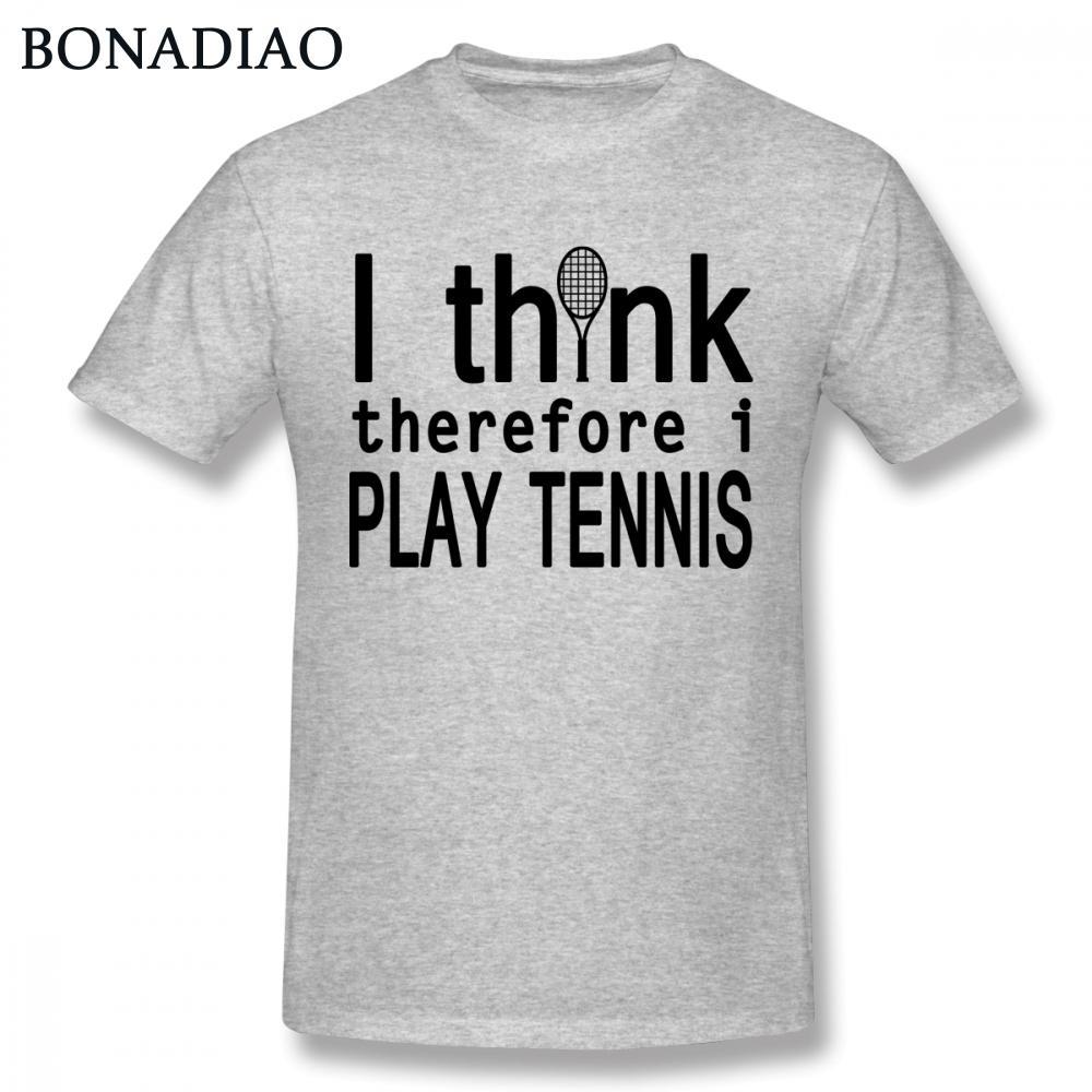Bola de tênis de verão T Shirt For Man 2018 New Custom Esporte Tee Camiseta