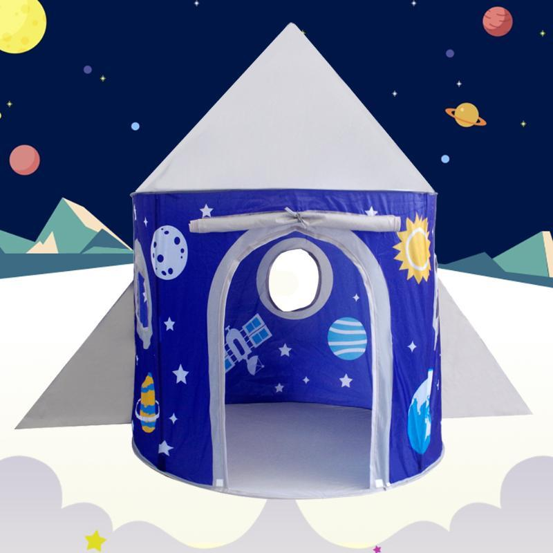 Space Planet Indoor Children's Tent Boy Girl Princess Castle Portable Indoor Baby Play Tents House Hut For Kids Toys