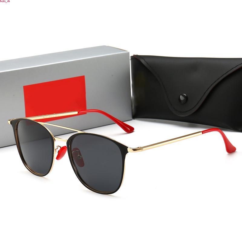 RayBan RB3601 Mens occhiali da sole retrò aviazione classici occhiali da sole modello in acetato telaio lenti G15 disegno del gatto pacchetti originali trasporto libero