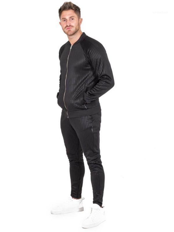 Herbst Art und Weise Striped Reißverschluss Herren Trainingsjacken Herren Designer-Jacke der neuen Ankunfts-Männer Designer Jacken Frühling