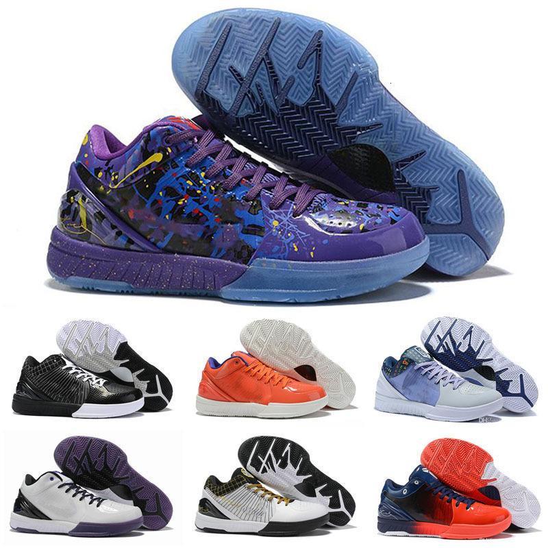 2020 New Classic MAMBA Zoom IV 4 Protro Draft Scarpe Giorno Hornets Carpe Diem Del Sol Sport Bambini di pallacanestro Mens Sneakers ZK4 4s