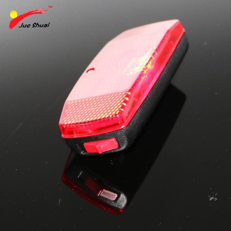 أضواء دراجة كهربائية LED أحمر الضوء الخلفي الضوء الخلفي على الرف ebike إصلاح التبعي للدراجات بيع