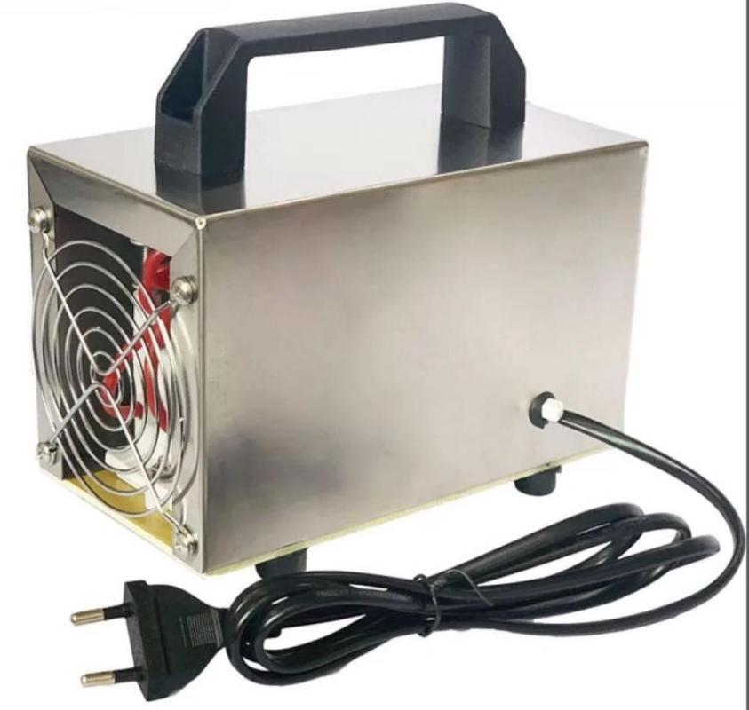 Generatore dell'ozono 220v 32g / 28g / 24g / 10g Portable Air Purifier o3 Ozonator Cleaner casa Desinfection Ozonizer elimina la formaldeide