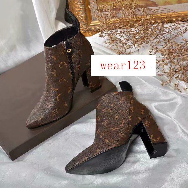 Последние Женская Ботильоны MATCHMAKE LOW BOOT Мода Женская обувь Ботильоны 1A5LML кожа ботинка женщин ботинок HOT SALE