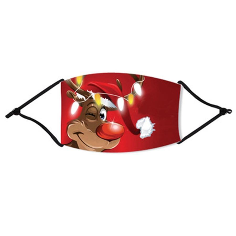 Máscaras Máscara de impresión floral transpirable plegable boca Máscaras reutilizables flor de la mascarilla de limpieza Máscara 6 Estilos # 599