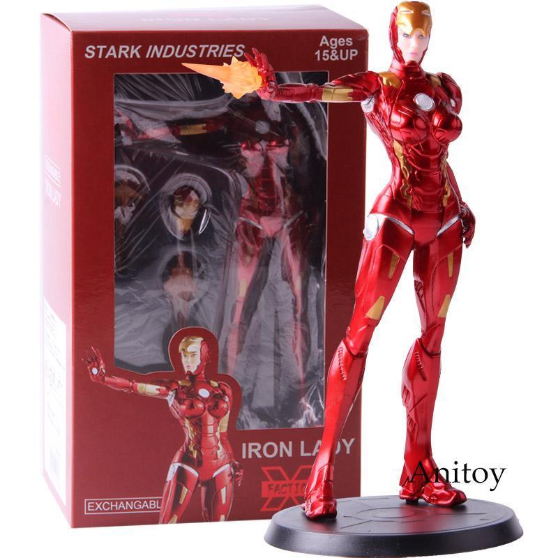Action Figure Iron Man Stark Industries Iron Lady Pepper Potts da collezione Toy Model PVC