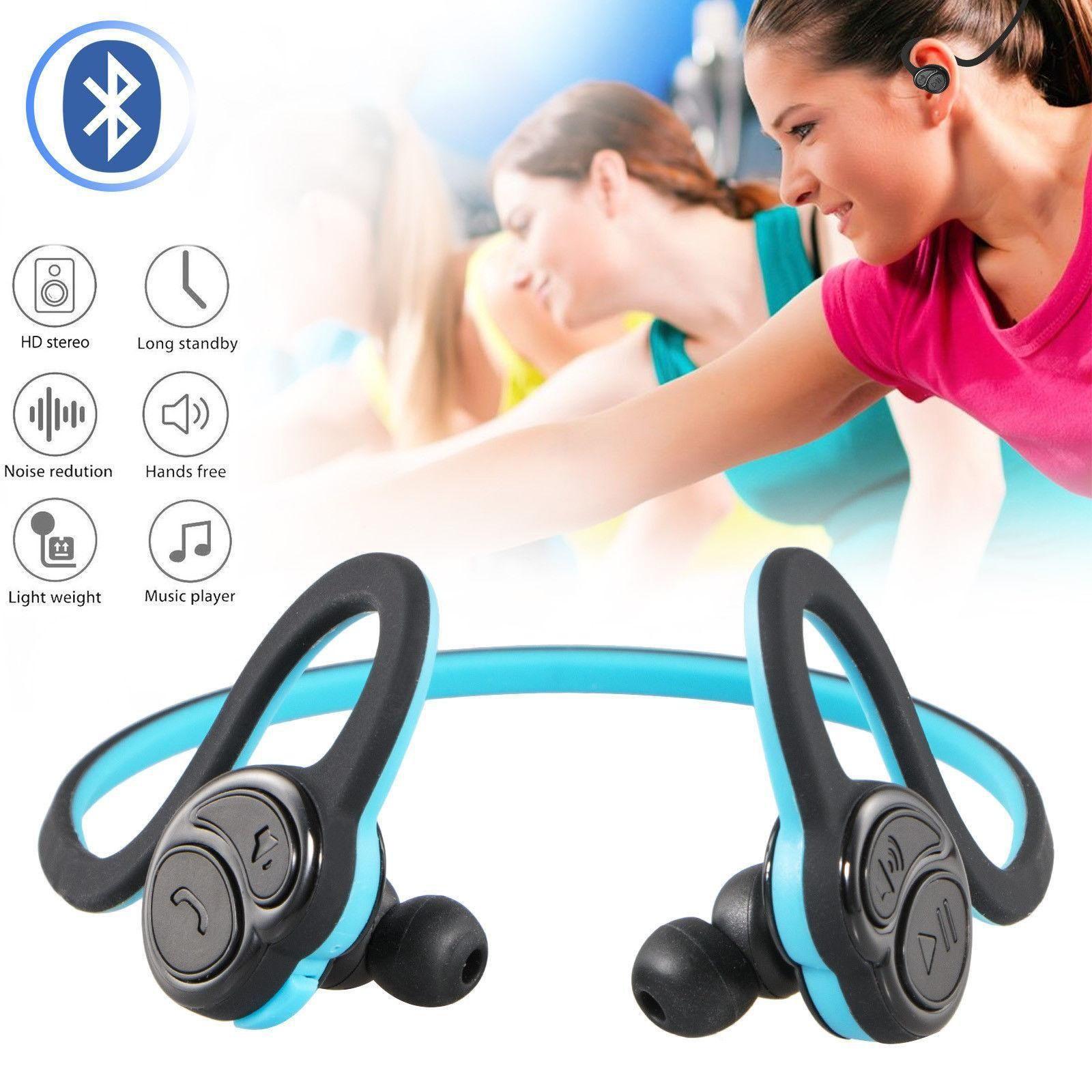 HV600 sans fil Bluetooth casque stéréo Bluetooth MTK4.1 écouteurs extensible sweatproof étanche pour téléphone le sport MP3