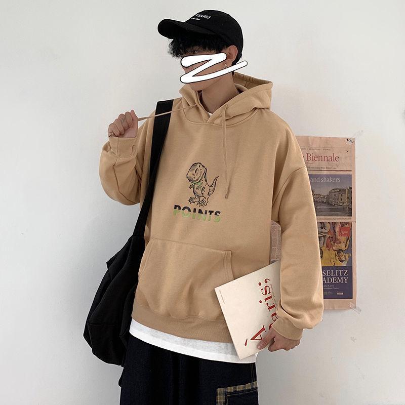 Privathinker Komik Baskılı Erkekler Kapüşonlular 2020 Sonbahar Yeni Erkek Kapşonlu Sweatshirt 4 Renkler Man Streetwear Casual Kazaklar