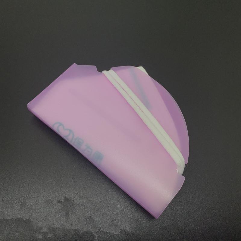 Box Face Mask Keeper Plastica PP Sheet Holder Holder Mouth Clip Pieghevole Caso Cartella Borsa Protezione Organizzatore Anti Polvere Colori portatili DHC1550
