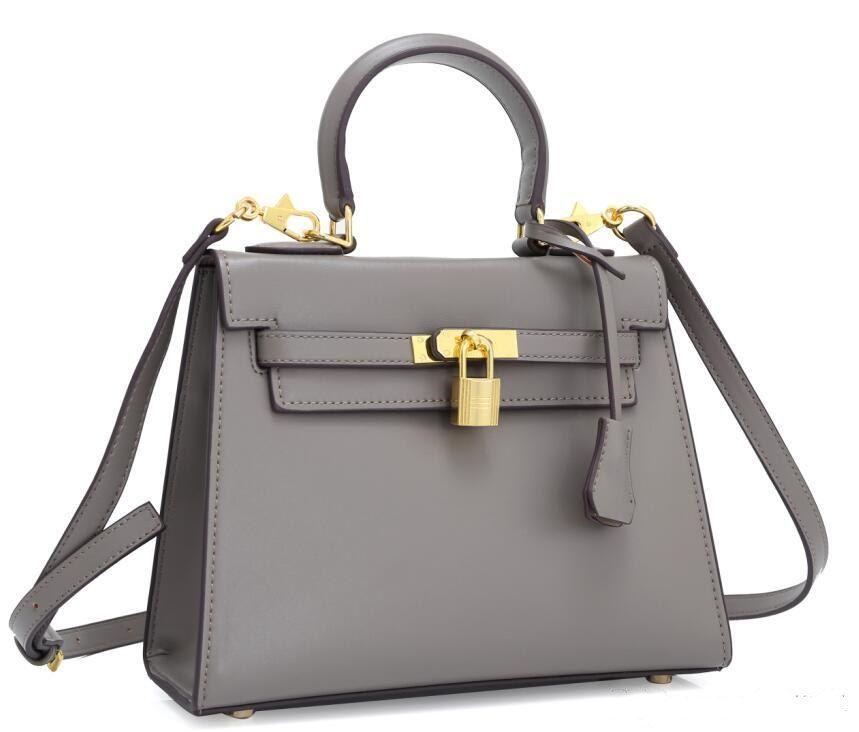 28cm H Sac à main épaule véritable sac de cuve de cuisson de luxe sacs sling Crossbody Designer Haute Qualité Hermet Marque cuir Kelly Sacs à main Gavmx