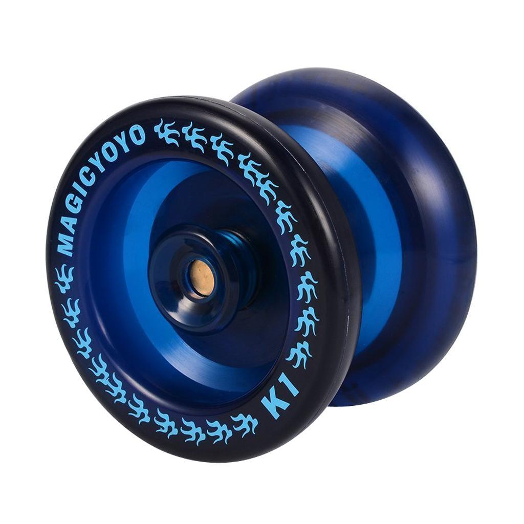 Magia Yo-yo K1 ABS sfera di plastica YOYO professionale cuscinetto String trucco giocattolo blu del regalo