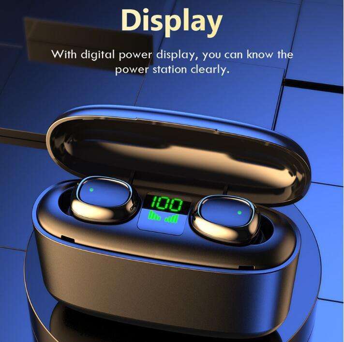 akıllı telefon samsung s10 fabrika çıkışı için f9 b11 b10 tomurcuklar + sm-r175 vs G5s TWS Kablosuz Kulaklık Bluetooth Kulaklık Dokunmatik Kontrol Kulaklık