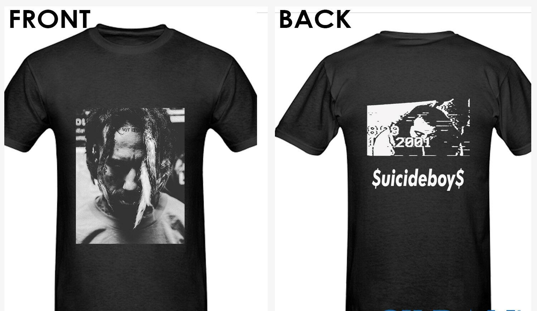 Suicideboy T-Shirt $ uicideboy $ Schwarzer T-Shirt T-Shirt T-Shirt Unisex Mehr Größe und Farben-Männer-T-Shirt Freies Verschiffen-T