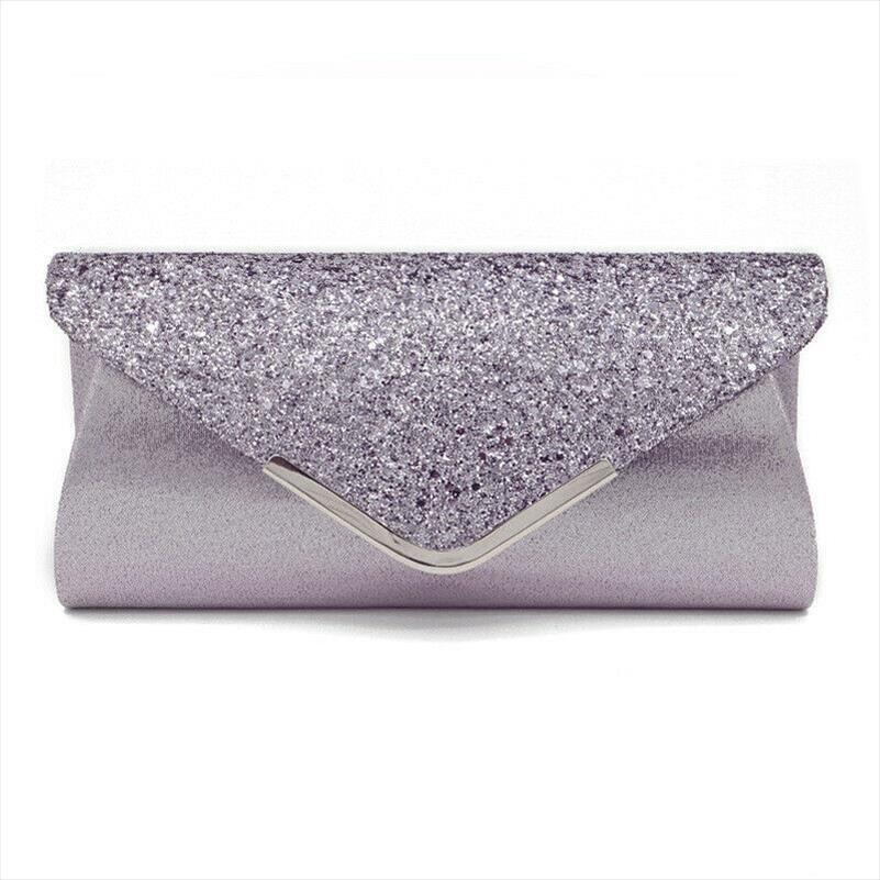Вечерние сумки Мода женщин дамы Блеск сцепления сумка Вечерние Свадеб Пром сумки кошелек Drop Доставка