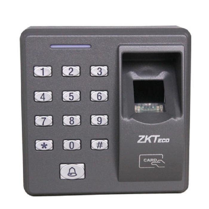 ZK X7 500 Şablonlar Kapasite Kartı Okuyucu ve Tuş Takımı ile Erişim Kontrolü Uygulamaları için Yenilikçi Biyometrik Parmak İzi Okuyucu
