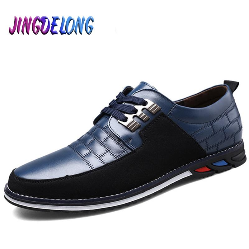 Sıcak Satış Günlük Ayakkabılar Kalite Deri Erkek Ayakkabı Klasik Rahat Buiness Biçimsel Moda Splice Erkekler loafer'lar Mens