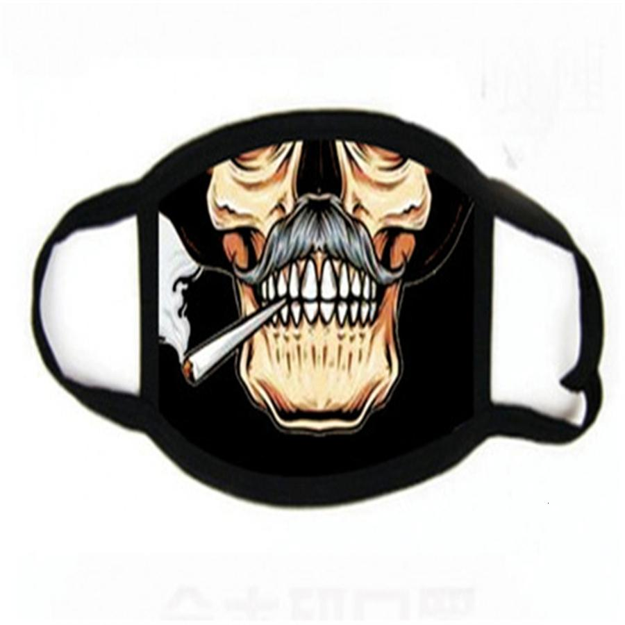Disposale Fa Den Karikatür Maskeler 3 katmanlı Mout Maske Wit Doule Paketi Maymun Parti Baskı Maskeler # 254