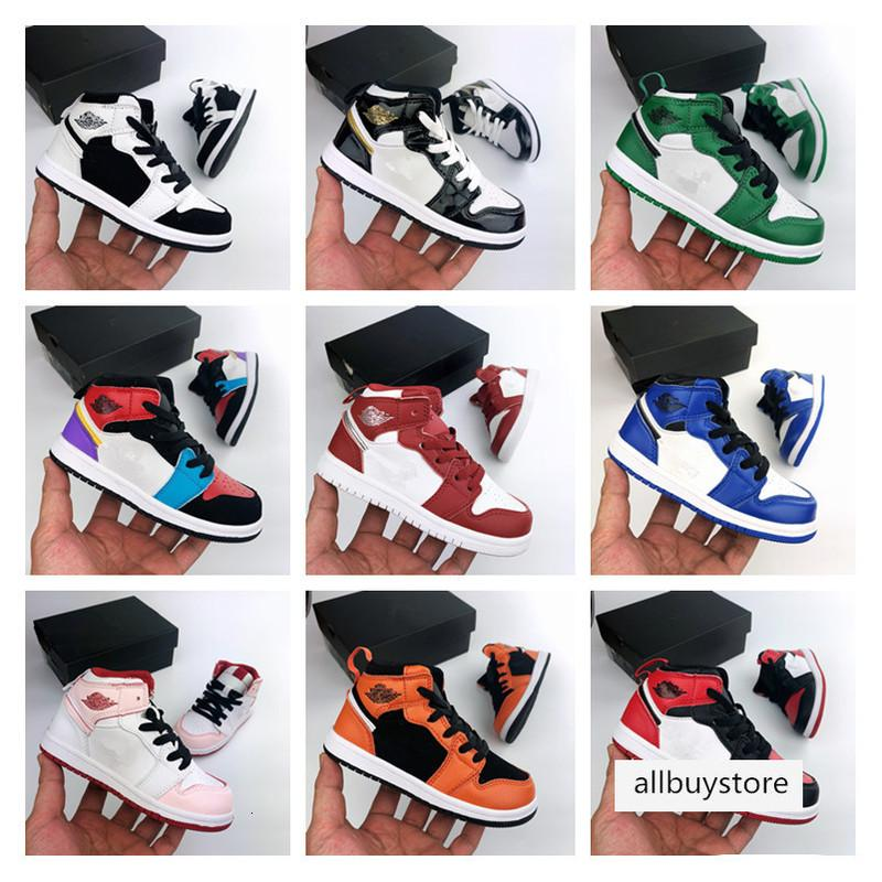Jumpman band for boy girl Basketball Shoes Athletics Sneakers kids Running Shoe For baby Sports Torch Hare Game Royal Pine Court96