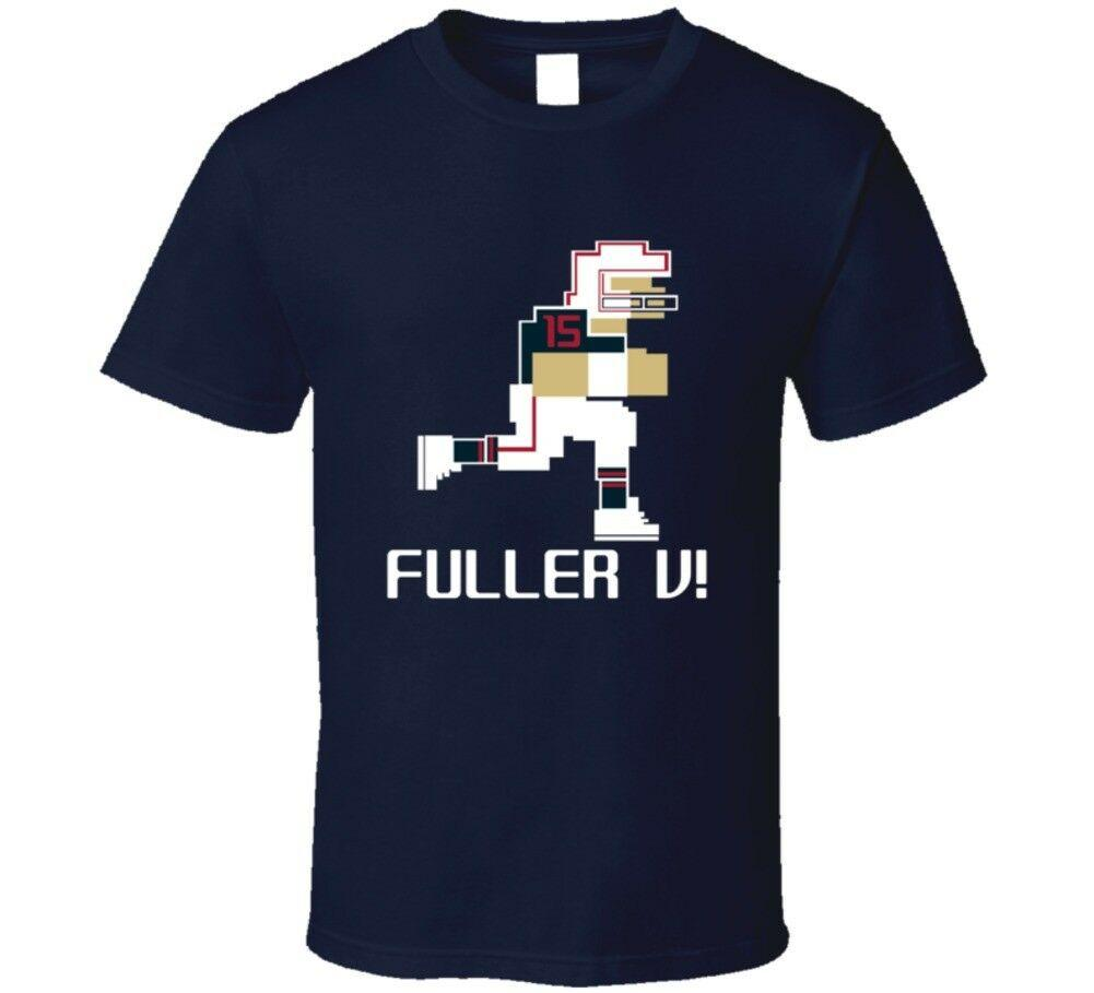 Will Fuller V 15 Tecmo Bowl Houston Futbol Atlet Fan Tişörtlü