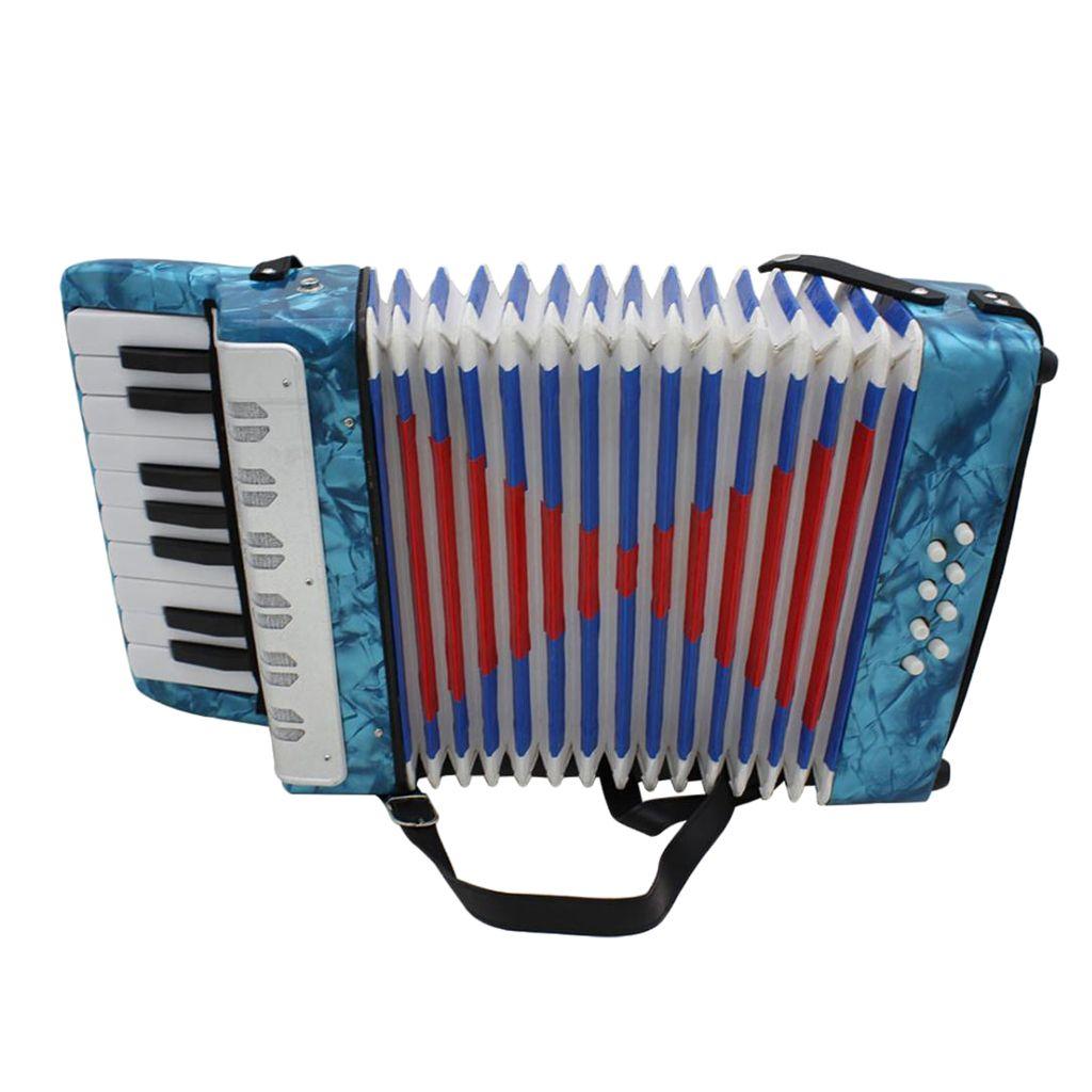 Performans için IRIN 17 Anahtar 8 Bas Piyano Akordeon Müzik Aleti