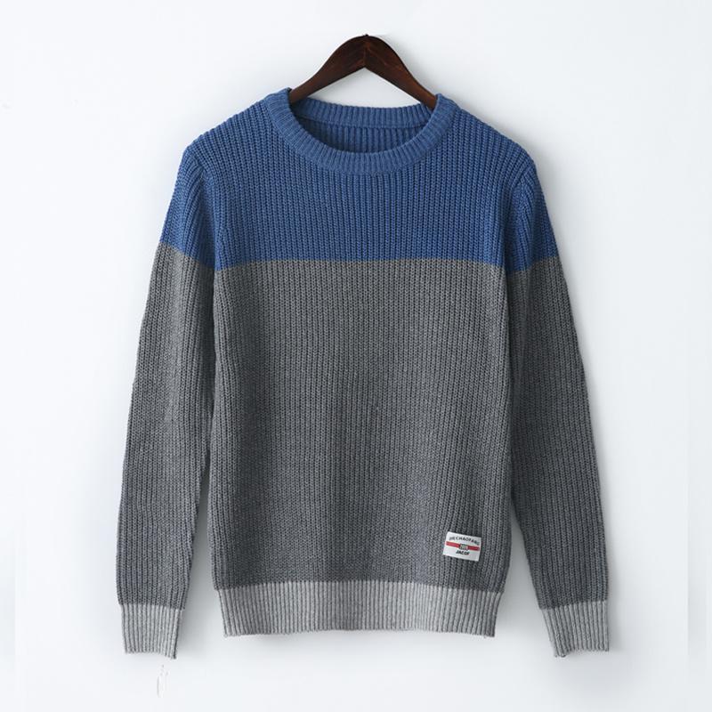 L'autunno e l'inverno maglione maschio Harajuku vento bf versione coreana sciolto collo rotondo tendenza Ulzzang pullover