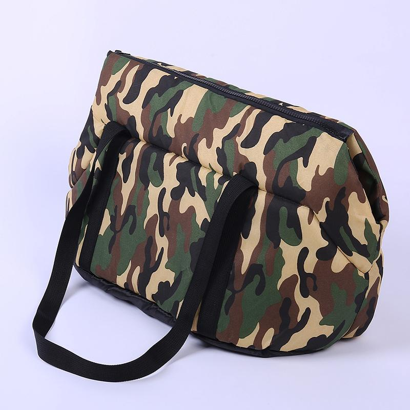 Dog Carrier Camouflage Bag Cozy Soft Backpack Pet Accessories for Small Pet Puppy Cat Dog Outdoor Travel Sling Carrier Bag