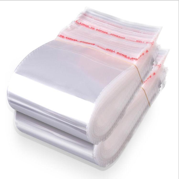 Borse di tenuta autoadesiva Dimensioni in plastica trasparente per violoncello per più Cellophane Auto richiudibile Imballaggio Candy Bag Borse di yxlwn UY2008