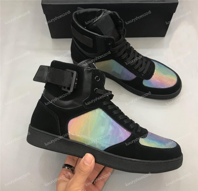 Top-Qualität schnüren sich oben im Freien Plattform Fitness Damen Herren Freizeitschuhe Mode Turnschuhe Rivoli Designer Luxus-Schuhe Zapatos de hombre