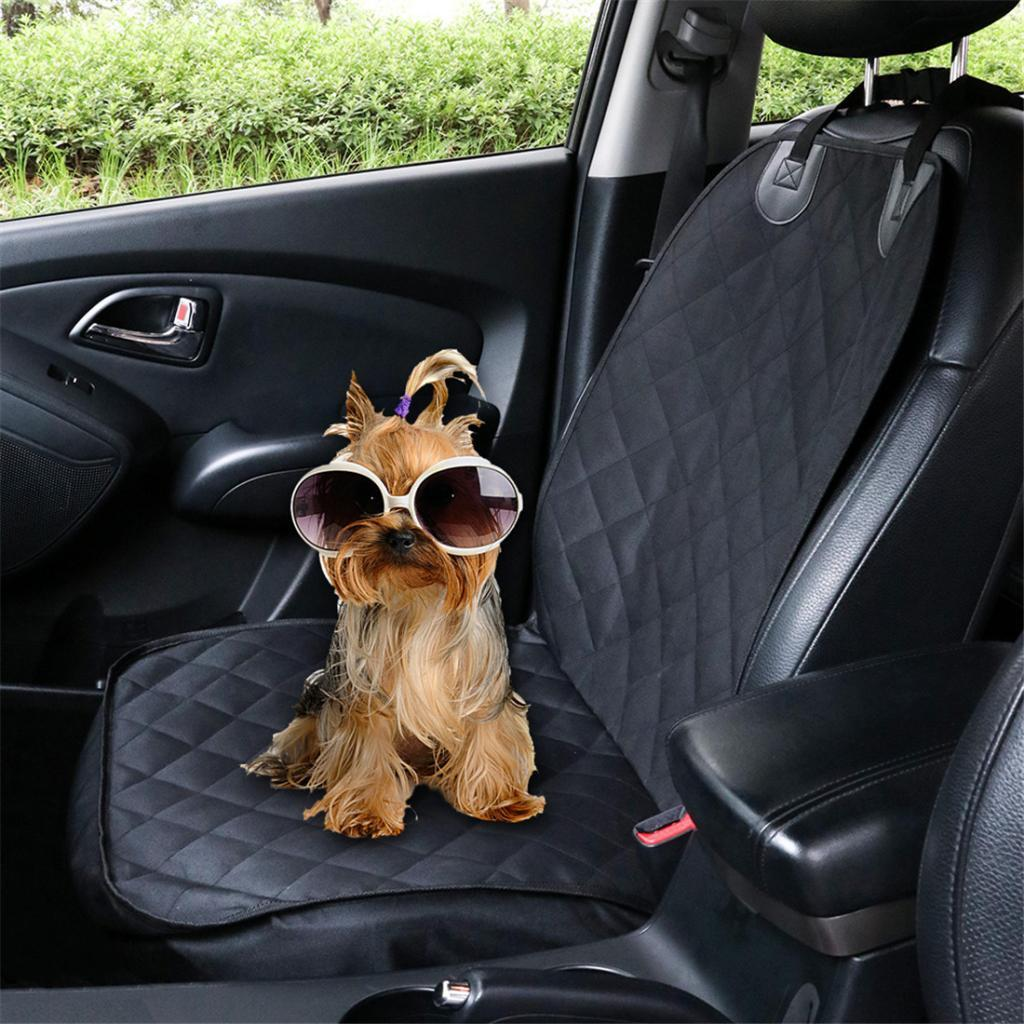 De alta calidad de perro cubierta de asiento del banco de prueba de agua pet protector para el coche lavable
