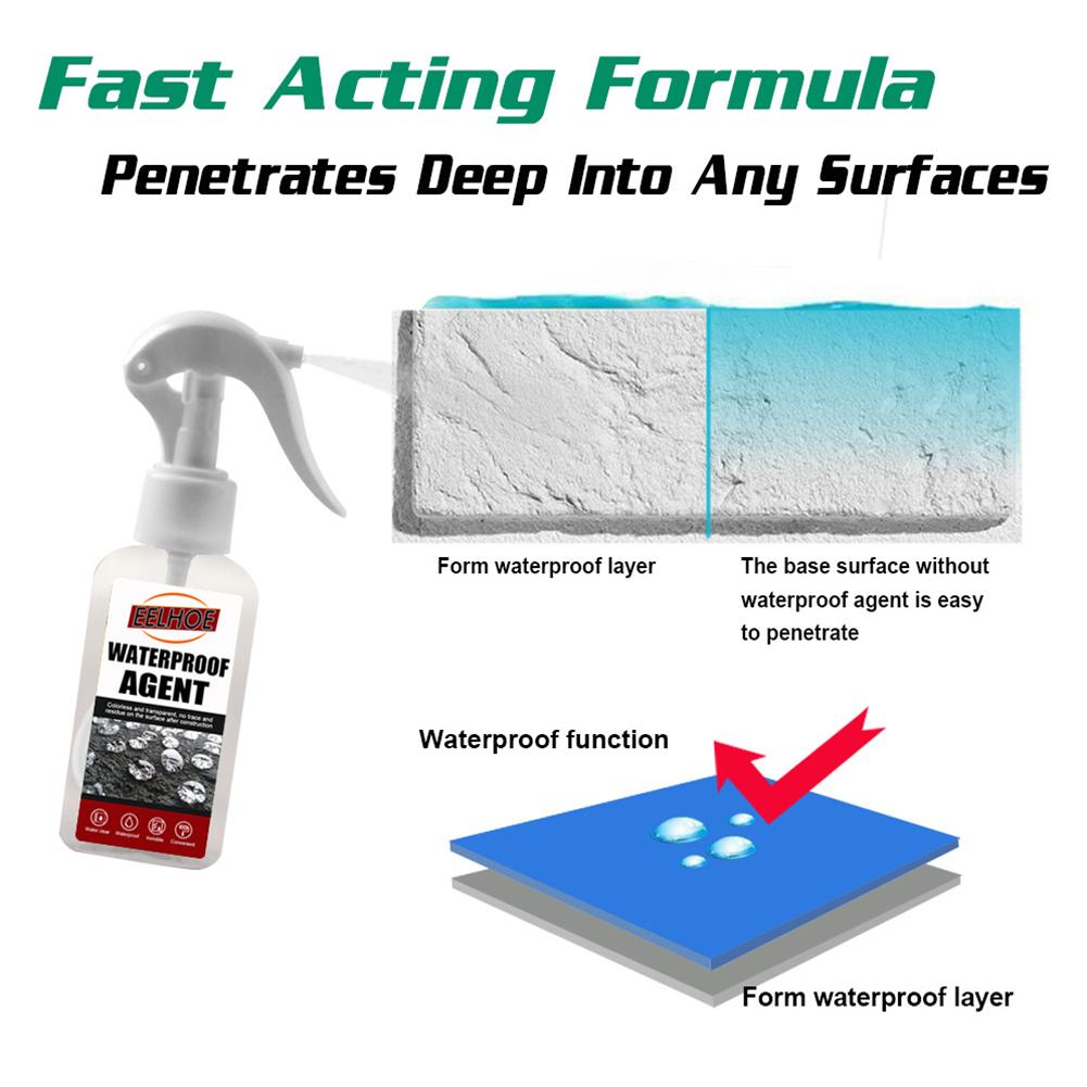 Anti-Leaking Sealant Super Strong 100ml Agent Trapping Bonding Spray Waterproof