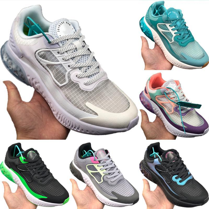 With Box 2020 Joyride Run Racer Ice Silk Running Shoe Originals Joyride Run Racer React Shield and Zoom Air Built-in Particle Jogging Shoe
