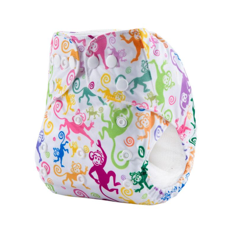 Baby Diapers Reusable Cloth Diaper Baby Cotton Training Pants Panties Nappies Washable Infants Children Underwear Nappy Changing