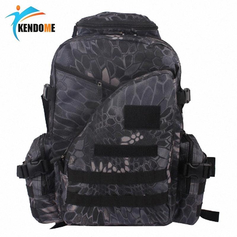 Viajes 7colors mujeres de los hombres del ejército al aire libre Morral táctico Trekking Deporte mochilas de excursión que acampa Trekking camuflaje bolsa de M546 #