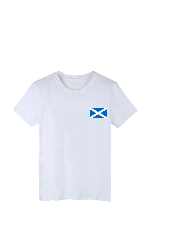 Футболка Королевского лев Необузданной Шотландия Флаг