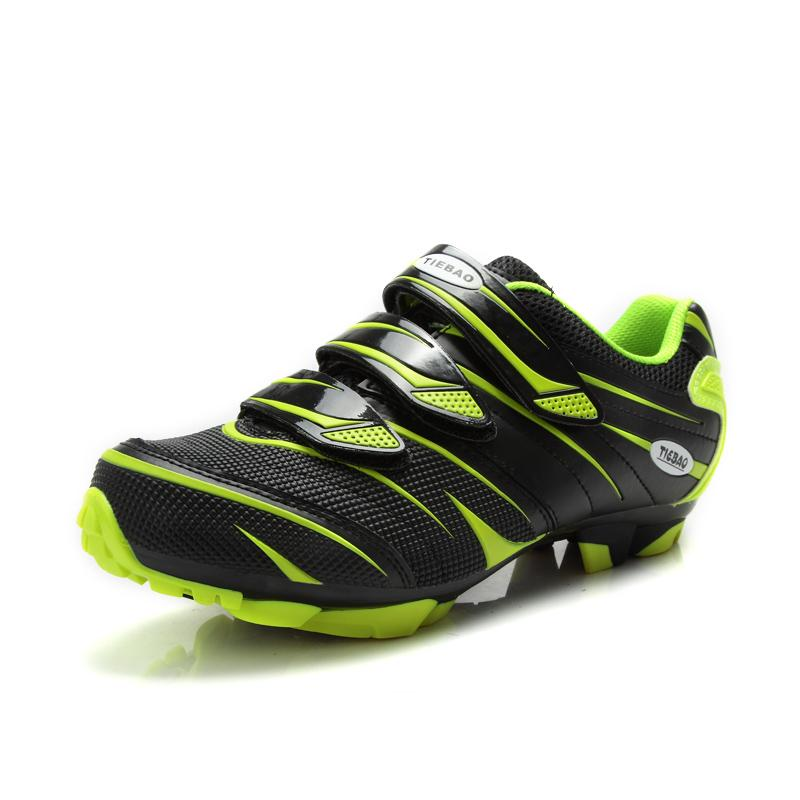 HOT Cycling Shoes Adult child Outdoor Sports Breathable Non-Slip Shoes Professional Mountain Bike Bicycle Self-Locking Com