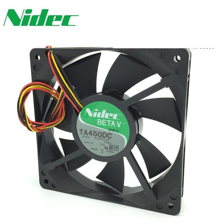 120 * 120 * 25 mm TA450DC A34452-57 120mm 48V 0.12A 12CM 12025 convertidor de ventilador de refrigeración