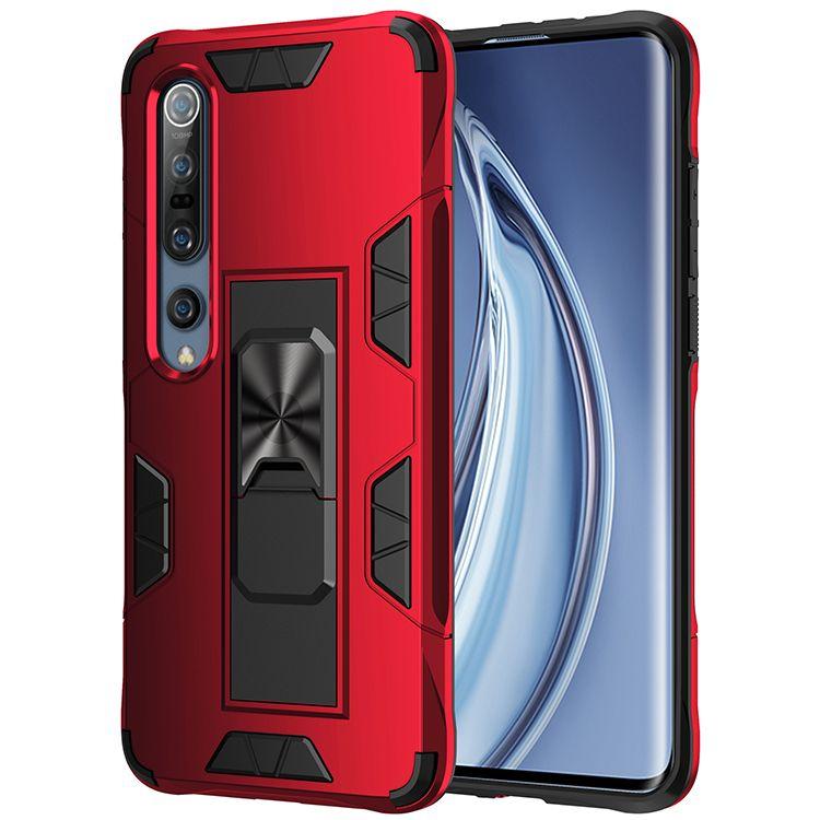 Ударопрочный Kickstand телефон чехол для Xiaomi Mi 10 10Pro Note10 Pro 9Т Pro TPU + PC Hard Назад Caver Для редми Примечание 9 8Pro 8 8А