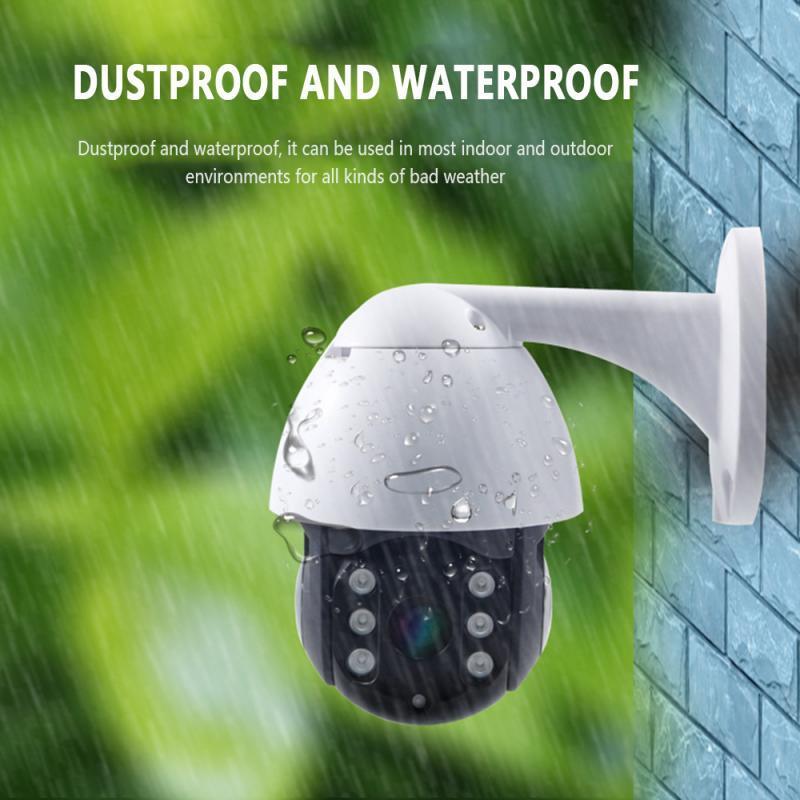كاميرا 1080P 3MP واي فاي IP كاميرا السيارات تتبع IR للرؤية الليلية الأمن الرئيسية في الأماكن المغلقة البسيطة الصوت مراقبة الطفل كاميرا CCTV IP في الهواء الطلق