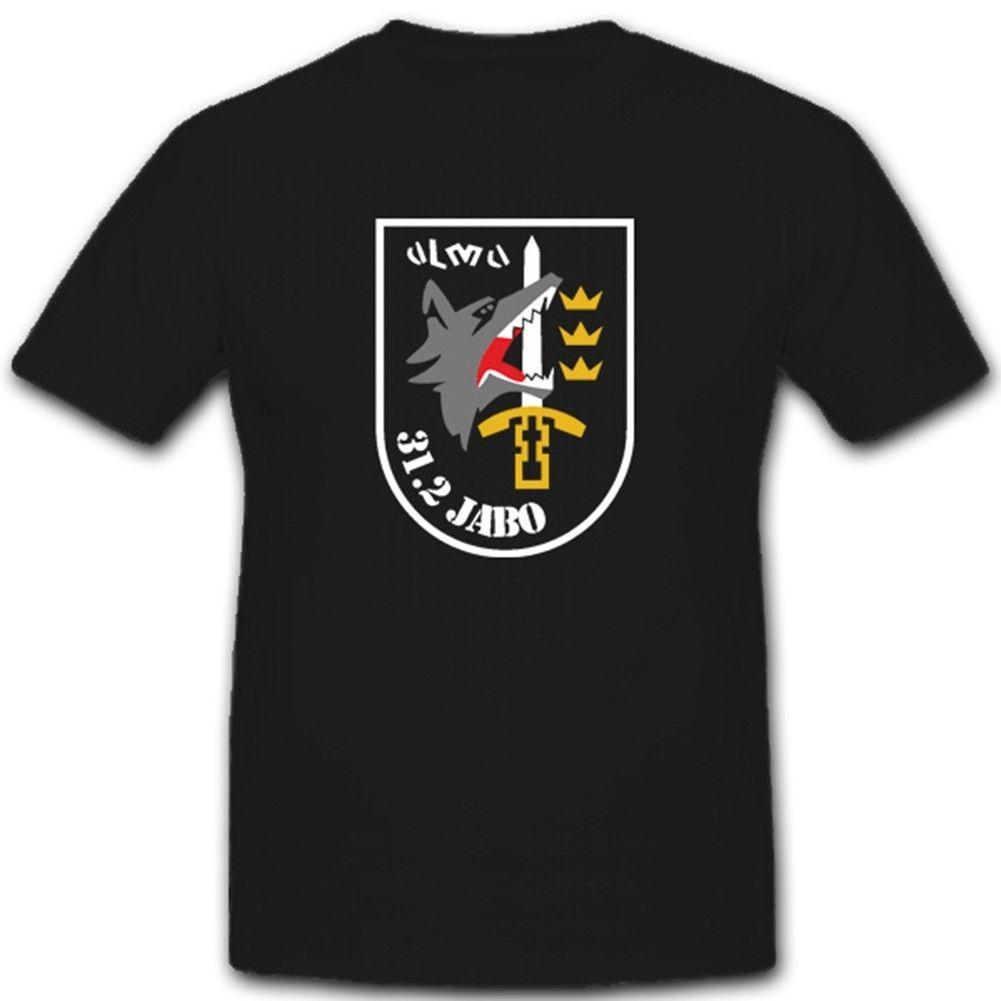 2020 style de la mode d'été Luftwaffe bundeswehr wappen jabog 31 2staffel Jagdbombergeschwader T-shirt # 1500 shirt