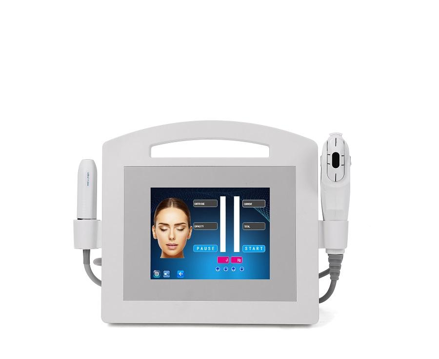 2020 2 In 1 HIFU Standard 2hifu handle 3 carved head skin tightening Skin Lifting high intensity focused ultrasound Machine for hospital.
