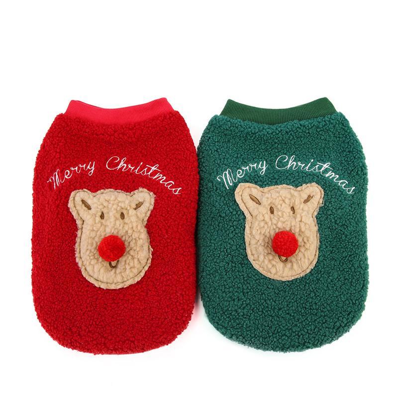 Одежда для собак Новогодняя одежда для собак Chihuahua зимний костюм зимние маленькая большая большая домашняя одежда кошка толстовки