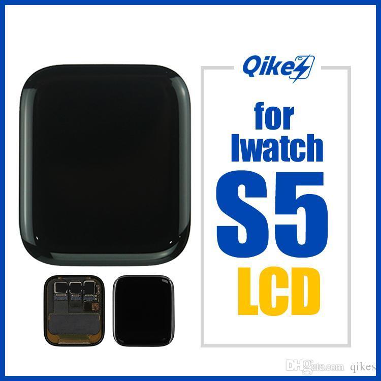 Original 40mm 44mm visualización del LCD para Apple Seguir 5 Series5 Pantalla LCD táctil para iWatch Asamblea Serie 5 5 LTE / GPS LCD